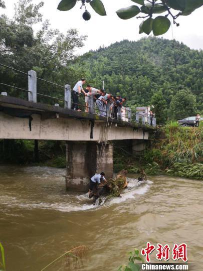 江西井冈山发生洪涝灾害 水利直接经济损失1100万元