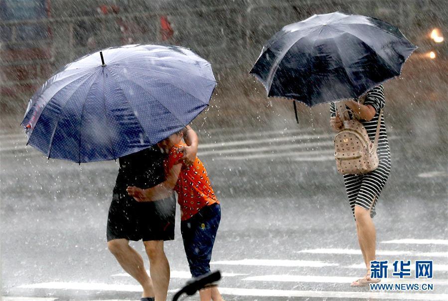 上海发布台风橙色预警