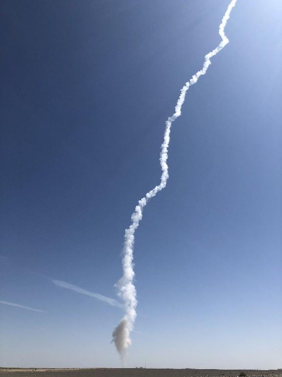 我国在酒泉卫星发射中心成功发射捷龙一号运载火箭