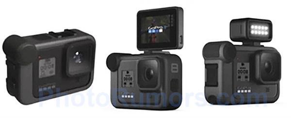 GoPro Hero8实机图曝光:支持4K/120fps录像